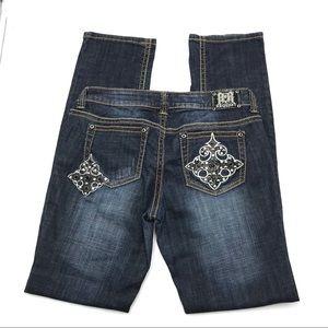 Request Skinny Decorative Jeans, Size 9/29, EUC